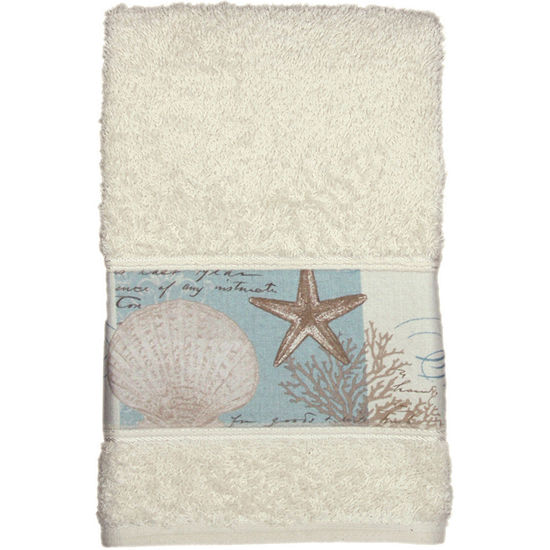 Bacova Coastal Moonlight Hand Towel