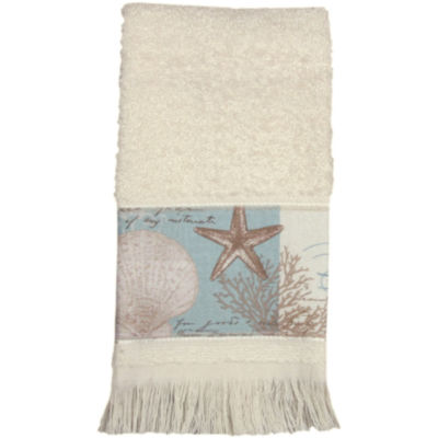 Bacova Coastal Moonlight Fingertip Towel