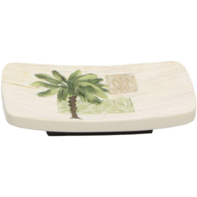 Bacova Citrus Palm Soap Dish