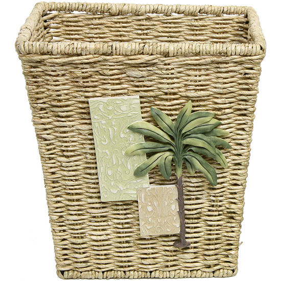 Bacova Citrus Palm Wastebasket