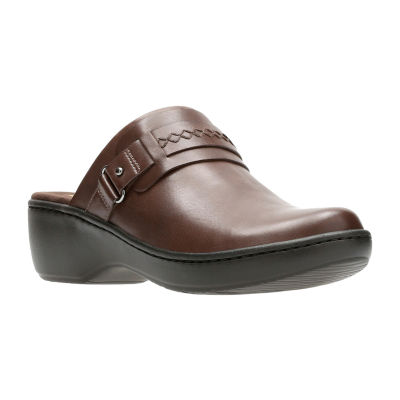 Clarks Delana Amber Womens Clogs Slip-on Closed Toe