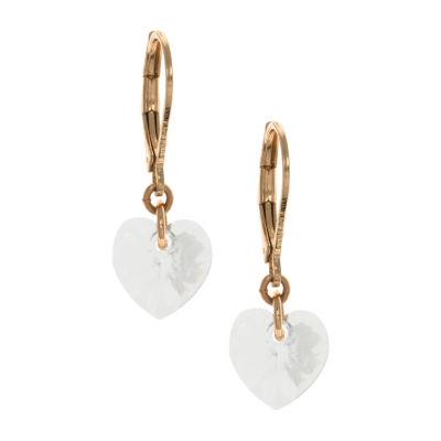 Gloria Vanderbilt Brass Nightmare Before Christmas Drop Earrings
