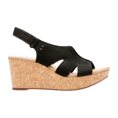 Clarks Annadel Bari Womens Wedge Sandals