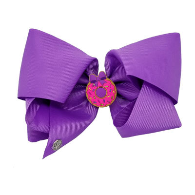 JoJo Siwa Signature Purple Sented Donut Bow