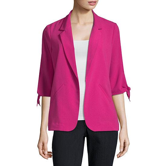 Worthington Tie Sleeve Jacket - Tall