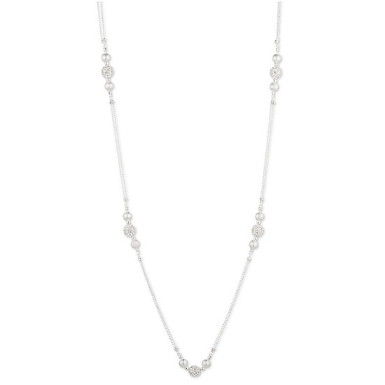 Gloria Vanderbilt 16 Inch Cable Collar Necklace