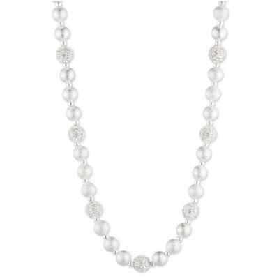 Gloria Vanderbilt Womens Brass Collar Necklace