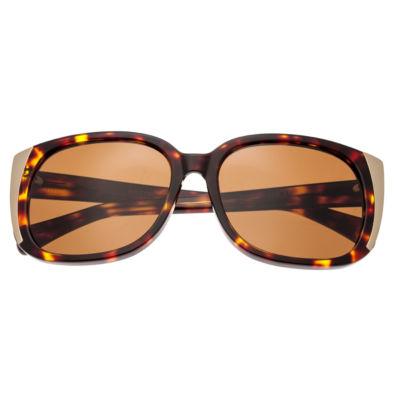 Bertha Full Frame Square Sunglasses-Womens