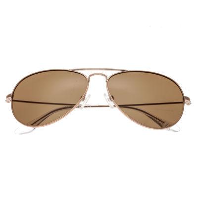 Bertha Womens Full Frame Aviator Polarized Sunglasses