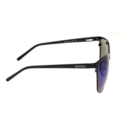 Bertha Full Frame Rectangular Sunglasses-Womens