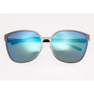Bertha Full Frame Rectangular Sunglasses-Womens