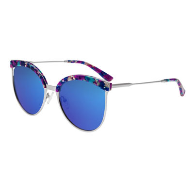 Bertha Full Frame Round Sunglasses-Womens