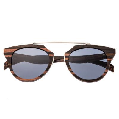 Earth Wood Full Frame Sunglasses-Womens