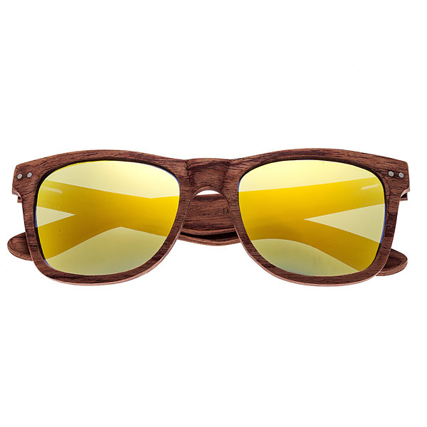 Earth Wood Full Frame Sunglasses-Womens