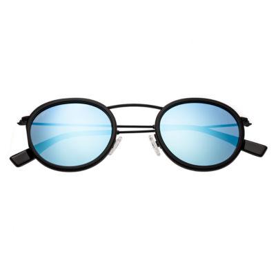 Simplify Sunglasses Half Frame Round Sunglasses-Womens