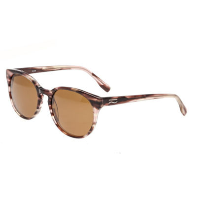 Simplify Womens Full Frame Rectangular Polarized Sunglasses
