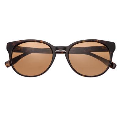 Simplify Womens Full Frame Rectangular Polarized Sunglasses