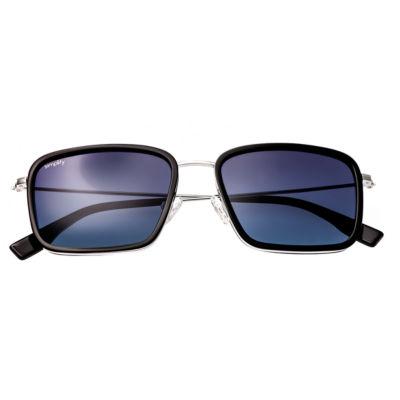 Simplify Sunglasses Half Frame Square Sunglasses-Womens
