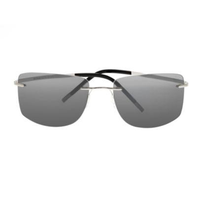 Simplify Sunglasses Rimless Rectangular Sunglasses-Womens