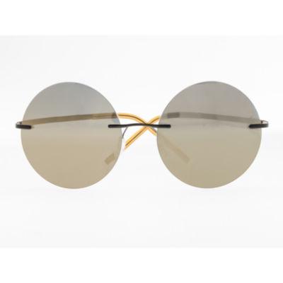 Simplify Sunglasses Rimless Round Sunglasses-Womens