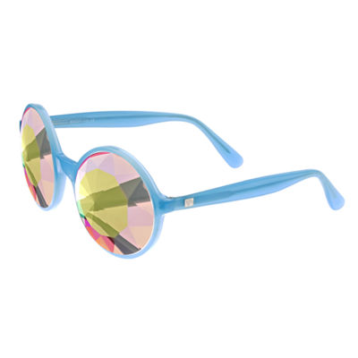 Sixty-One Full Frame Round Sunglasses-Womens