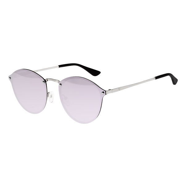 Sixty-One Rimless Cat Eye Sunglasses-Womens