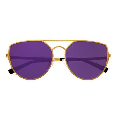 Sixty-One Full Frame Cat Eye Sunglasses-Womens