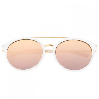 Sixty-One Womens Full Frame Cat Eye Polarized Sunglasses
