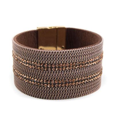 Arizona Womens Orange Wrap Bracelet