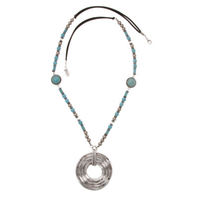 Erica Lyons Womens Pendant Necklace
