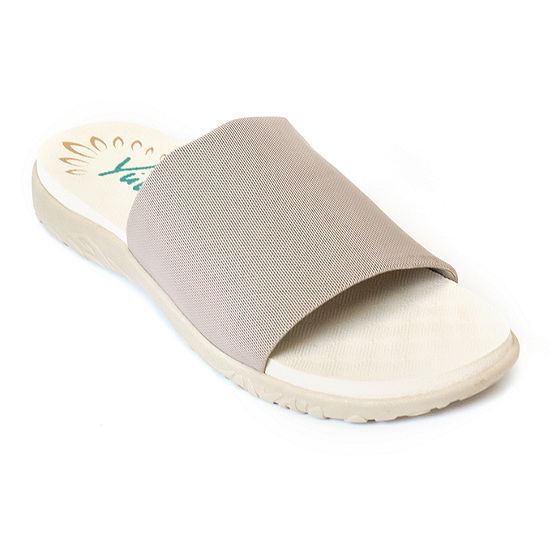 c03cd6a5e0146 Yuu Womens Casie Slide Sandals - JCPenney