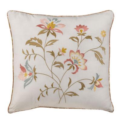 Nostalgia Home Caroline 16x16 Square Throw Pillow
