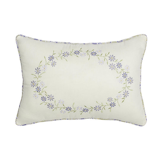"""Nostalgia Home Cathedral Window 14""""x20"""" Rectangular Throw Pillow"""