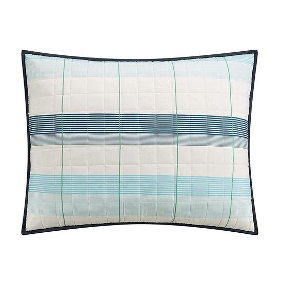 IZOD Radford Stripe Stripes Quilt Set