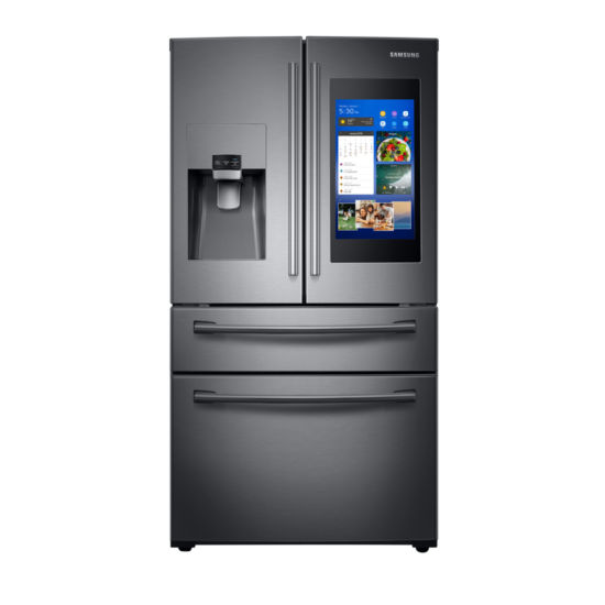 Samsung ENERGY STAR® Smart Wi-Fi Enabled 28 cu. ft. 4-Door French Door Refrigerator with Family Hub™