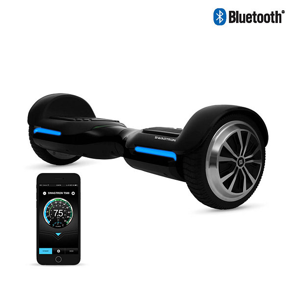 SWAGTRON T580 App-Enabled Hoverboard with Bluetooth Speakers