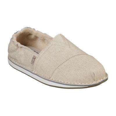 Skechers Bobs Chill Womens Walking Shoes Slip-on