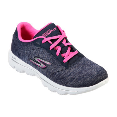 Skechers Go Walk Evolution Lace-up Womens Walking Shoes