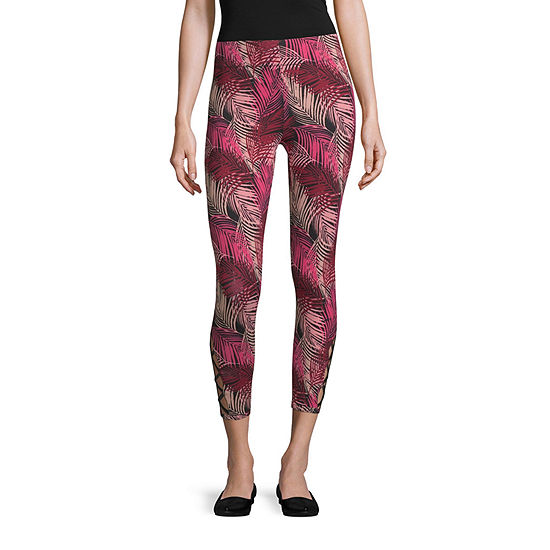 Mixit Strap Detail Womens Full Length Leggings