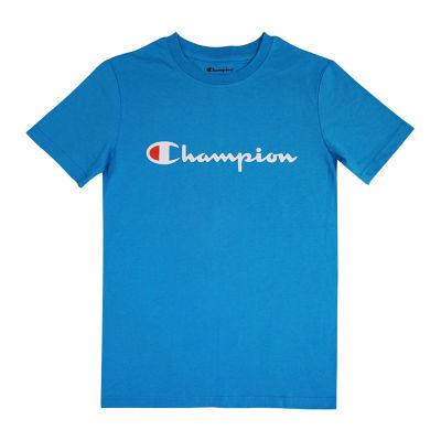 Champion Boys Crew Neck Short Sleeve Graphic T-Shirt Preschool / Big Kid