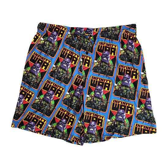 Marvel Avengers Knit Pajama Shorts