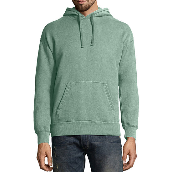 Hanes Comfort Wash Mens Long Sleeve Moisture Wicking Hoodie