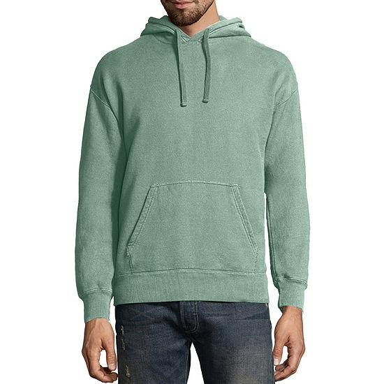 Hanes Men's ComfortWash Garment-Dyed Fleece Hoodie
