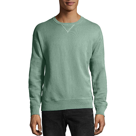 Hanes Men's ComfortWash Garment-Dyed Fleece Sweatshirt