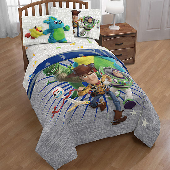 Disney Toy Story 4 Midweight Reversible Comforter