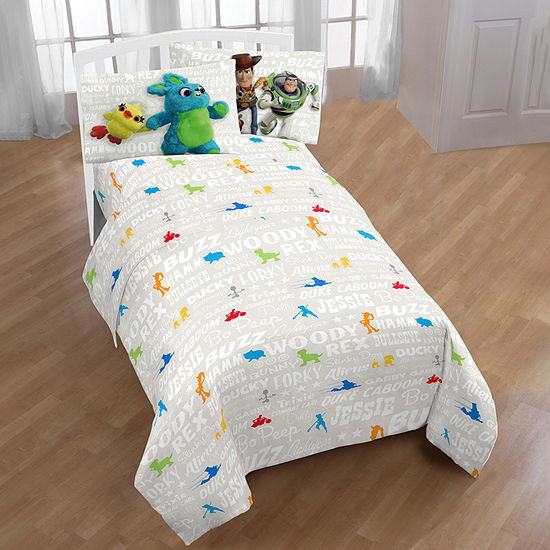 Disney Toy Story 4 Microfiber Easy Care Sheet Set