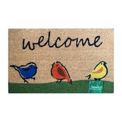 Direct Home Textiles Group Paws Rectangular Outdoor Doormat