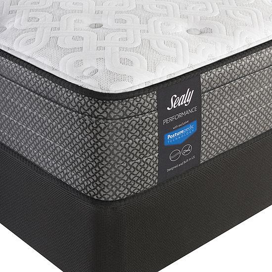Sealy® Davlin Ltd Plush Euro Top - Mattress + Box Spring