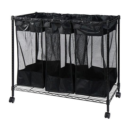 Oceanstar® Triple Storage Organizer and Laundry Sorter