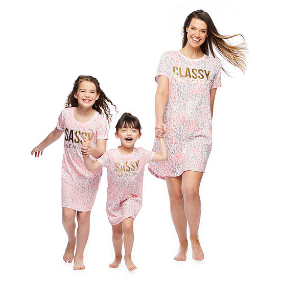 Mommy and Me Cheetah Nightshirt